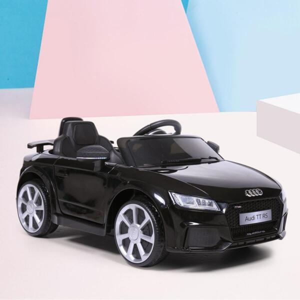 Audi TT RS Licensed Ride On Car, Black audi tt rs licensed ride on car black 0