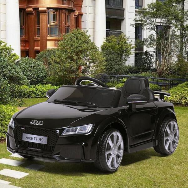 Audi TT RS Licensed Ride On Car, Black audi tt rs licensed ride on car black 1