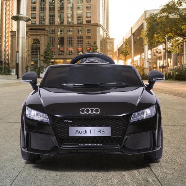 Audi TT RS Licensed Ride On Car, Black audi tt rs licensed ride on car black 3