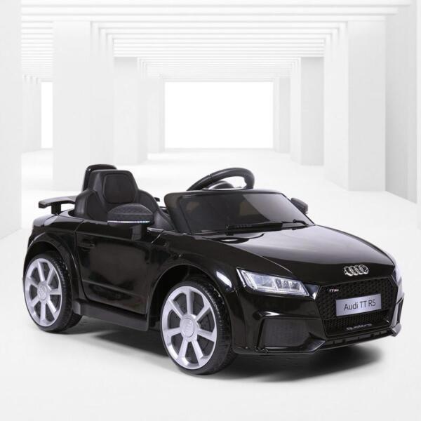 Audi TT RS Licensed Ride On Car, Black audi tt rs licensed ride on car black 6