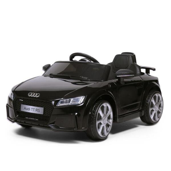 Audi TT RS Licensed Ride On Car, Black audi tt rs licensed ride on car black 8