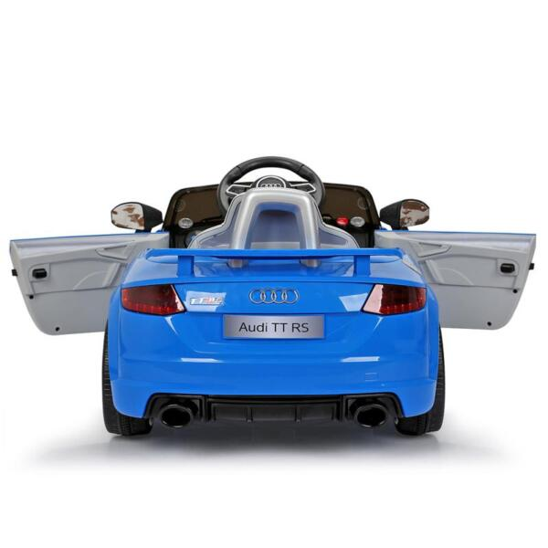 Audi TT RS Ride On Car For Kids With Remote Control, Blue audi tt rs licensed ride on car blue 0
