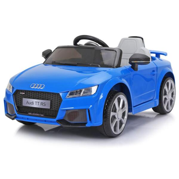 Audi TT RS Ride On Car For Kids With Remote Control, Blue audi tt rs licensed ride on car blue 10