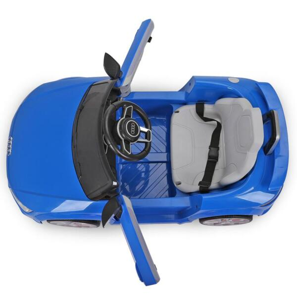 Audi TT RS Ride On Car For Kids With Remote Control, Blue audi tt rs licensed ride on car blue 11