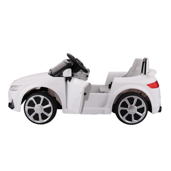 Audi TT RS Ride On Car For Kids With Remote Control, White audi tt rs licensed ride on car white 18