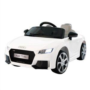 Selling audi tt rs licensed ride on car white 26 best selling on TOBBI