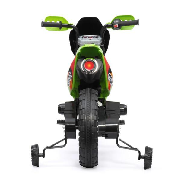 Auxiliary Kids Ride On Motorcycle, Green auxiliary kids ride on motorcycle green 5