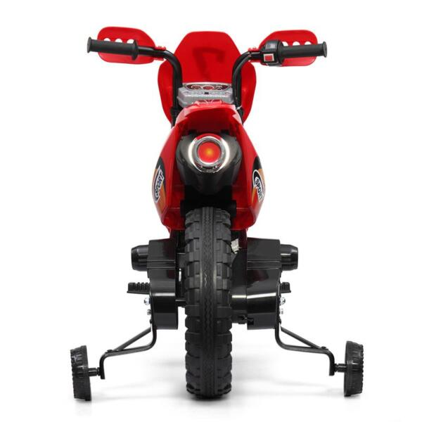 Auxiliary Kids Ride On Motorcycle, Red auxiliary kids ride on motorcycle red 11