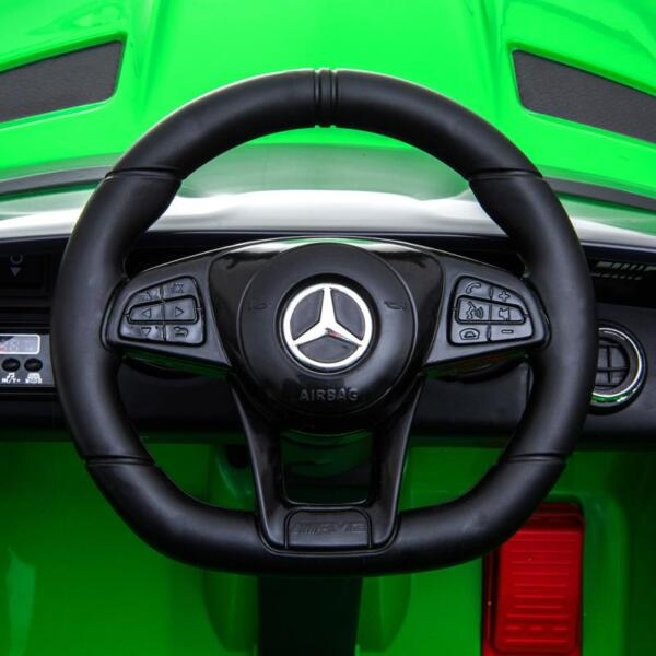 Benz GTR-AMG Licensed 12V Electric Car, Green benz gtr amg licensed 12v electric car black 21 1