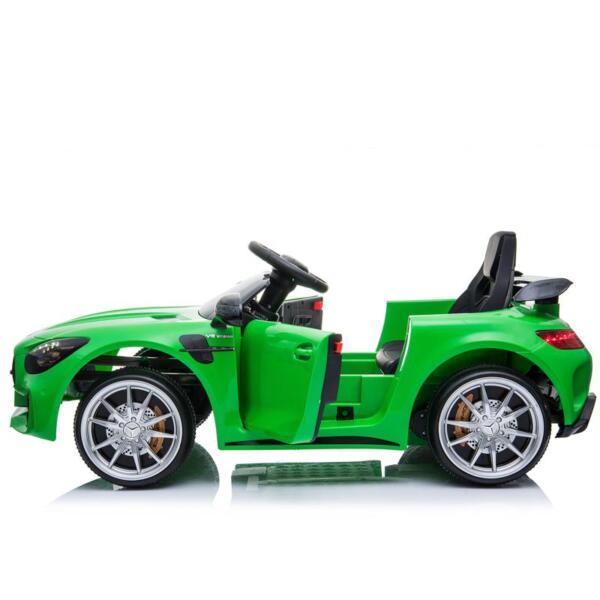 Benz GTR-AMG Licensed 12V Electric Car, Green benz gtr amg licensed 12v electric car black 28