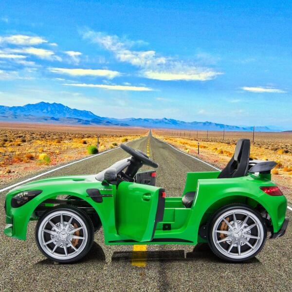 Benz GTR-AMG Licensed 12V Electric Car, Green benz gtr amg licensed 12v electric car black 6