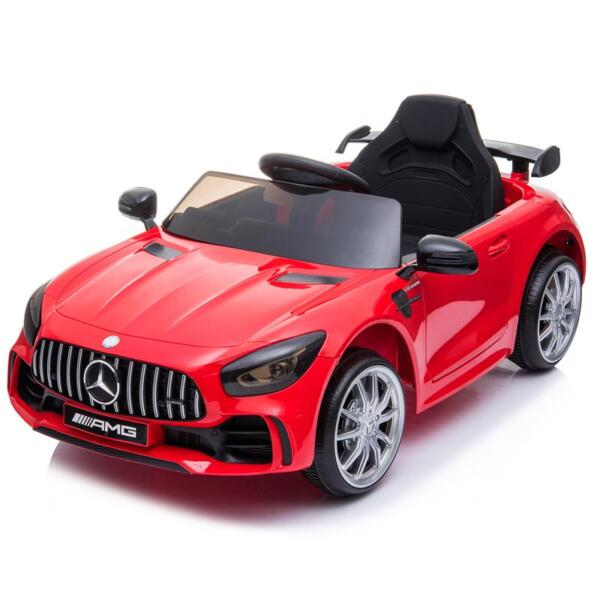 12V Mercedes-Benz GTR-AMG Kids Electric Ride On Car, Red benz gtr amg licensed 12v electric car red 11