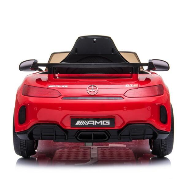12V Mercedes-Benz GTR-AMG Kids Electric Ride On Car, Red benz gtr amg licensed 12v electric car red 13