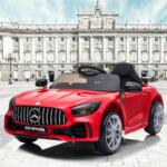 12V Mercedes-Benz GTR-AMG Kids Electric Ride On Car, Red benz gtr amg licensed 12v electric car red 20