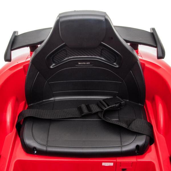 12V Mercedes-Benz GTR-AMG Kids Electric Ride On Car, Red benz gtr amg licensed 12v electric car red 32