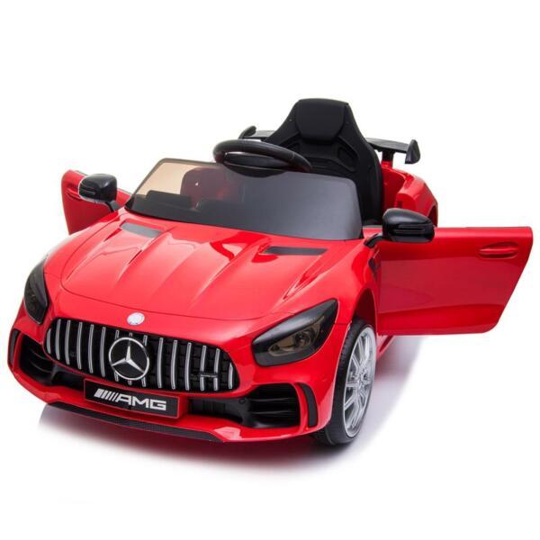 12V Mercedes-Benz GTR-AMG Kids Electric Ride On Car, Red benz gtr amg licensed 12v electric car red 4