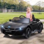 BMW Ride on Car With Remote Control For Kids, Black bmw licensed i8 12v kids ride on car black 12