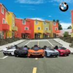 BMW Ride on Car With Remote Control For Kids, Black bmw licensed i8 12v kids ride on car black 16