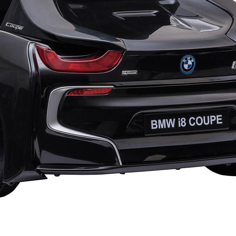 BMW Ride on Car With Remote Control For Kids, Black bmw licensed i8 12v kids ride on car black 18