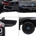 BMW Ride on Car With Remote Control For Kids, Black bmw licensed i8 12v kids ride on car black 25