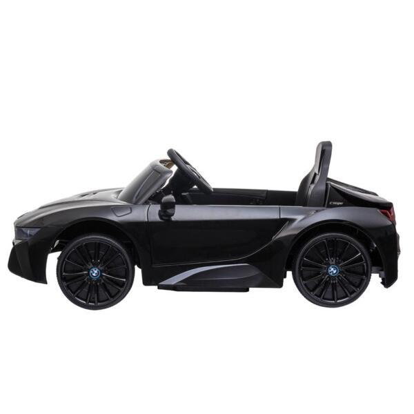 BMW Ride on Car With Remote Control For Kids, Black bmw licensed i8 12v kids ride on car black 6