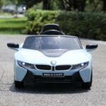 BMW Ride on Car With Remote Control For Kids, Blue bmw licensed i8 12v kids ride on car blue 14