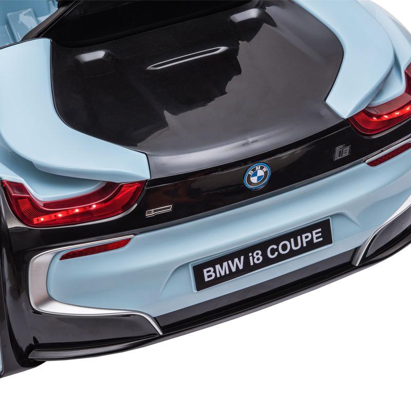 BMW Ride on Car With Remote Control For Kids, Blue bmw licensed i8 12v kids ride on car blue 17 1