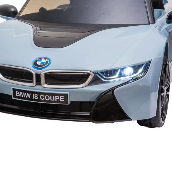 BMW Ride on Car With Remote Control For Kids, Blue bmw licensed i8 12v kids ride on car blue 18 2