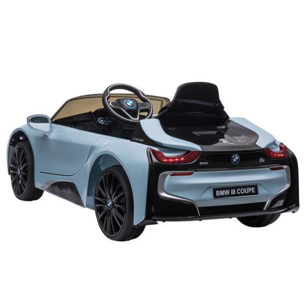 BMW Ride on Car With Remote Control For Kids, Blue bmw licensed i8 12v kids ride on car blue 3
