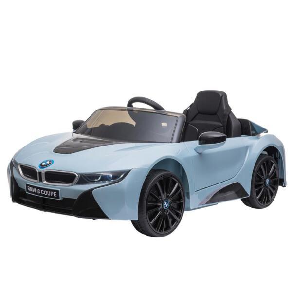 BMW Ride on Car With Remote Control For Kids, Blue bmw licensed i8 12v kids ride on car blue 4