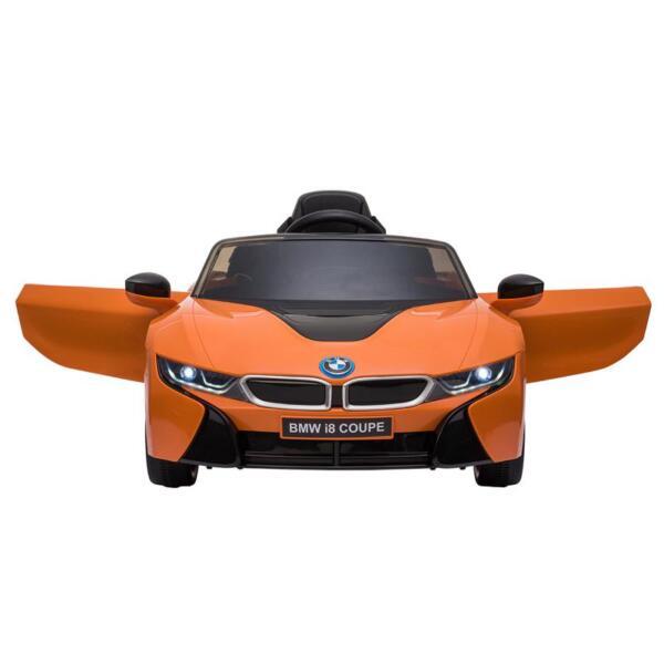 BMW Licensed i8 12V Kids Ride on Car, Orange bmw licensed i8 12v kids ride on car orange 13