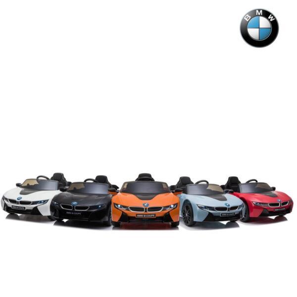 BMW Licensed i8 12V Kids Ride on Car, Orange bmw licensed i8 12v kids ride on car orange 23