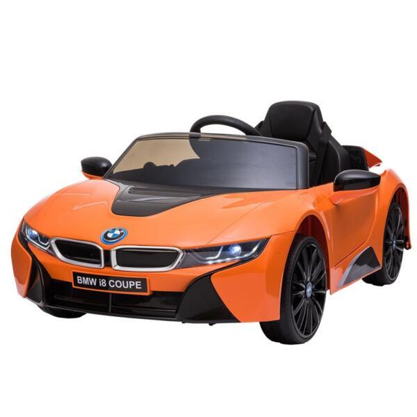 BMW Licensed i8 12V Kids Ride on Car, Orange bmw licensed i8 12v kids ride on car orange 8
