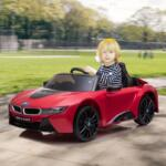BMW Ride on Car With Remote Control For Kids, Red bmw licensed i8 12v kids ride on car red 15
