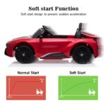 BMW Ride on Car With Remote Control For Kids, Red bmw licensed i8 12v kids ride on car red 23
