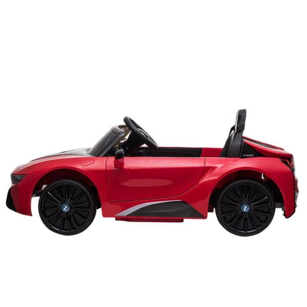 BMW Ride on Car With Remote Control For Kids, Red bmw licensed i8 12v kids ride on car red 8
