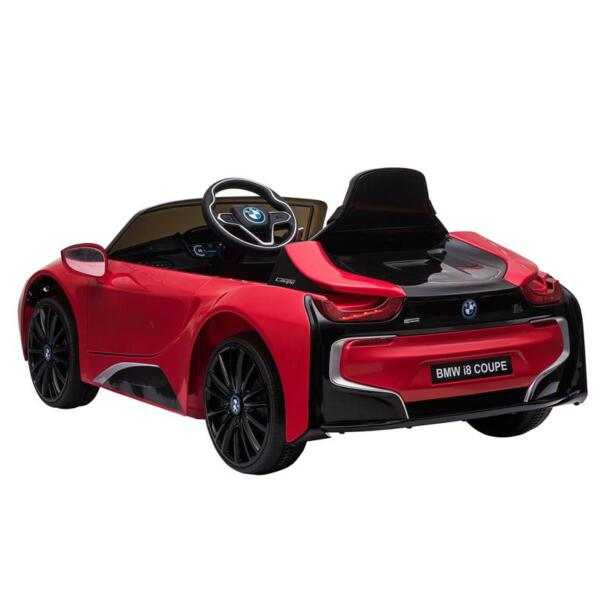 BMW Ride on Car With Remote Control For Kids, Red bmw licensed i8 12v kids ride on car red 9