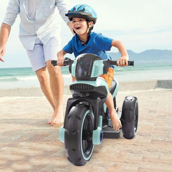 Electric Motorcycle Tricycle Battery Operated, Blue electric motorcycle tricycle battery operated blue 23