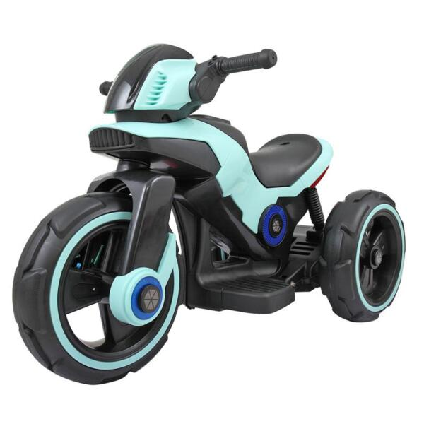 Electric Motorcycle Tricycle Battery Operated, Blue electric motorcycle tricycle battery operated blue 7