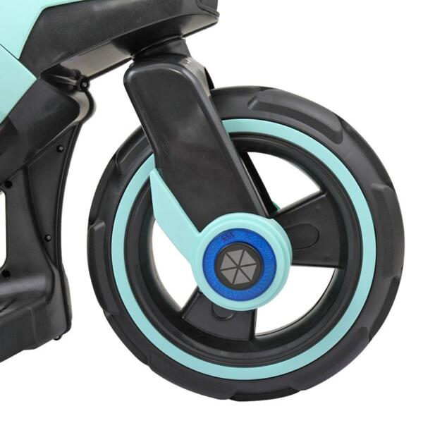 Electric Motorcycle Tricycle Battery Operated, Blue electric motorcycle tricycle battery operated blue 8 1