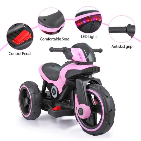 Electric Motorcycle Tricycle Battery Operated electric motorcycle tricycle battery operated pink 13