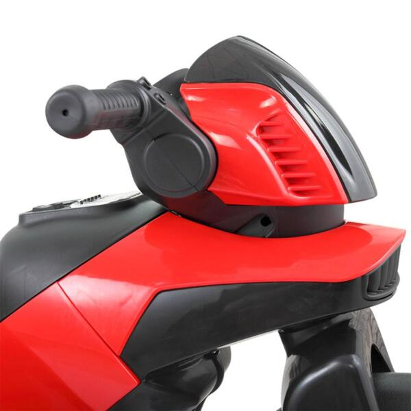 6V Electric Motorcycle Tricycle W/ 3 Wheel electric motorcycle tricycle battery operated red 27 1
