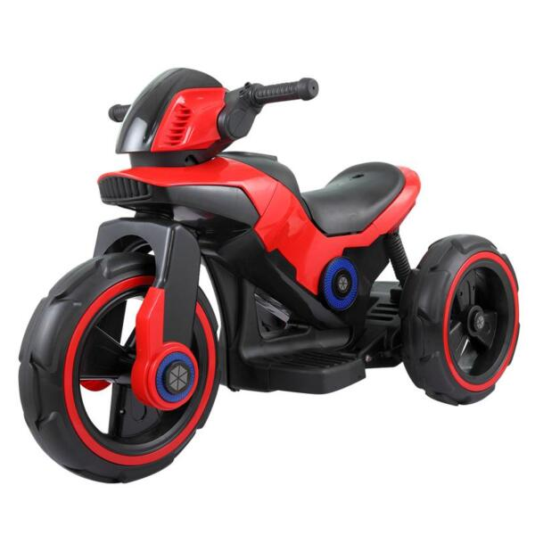 6V Electric Motorcycle Tricycle W/ 3 Wheel electric motorcycle tricycle battery operated red 3