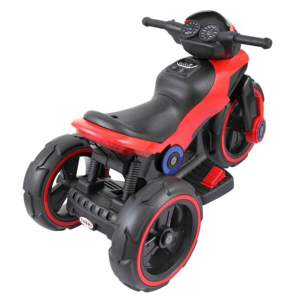 6V Electric Motorcycle Tricycle W/ 3 Wheel electric motorcycle tricycle battery operated red 4