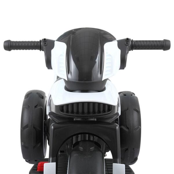 White Electric Motorcycle Tricycle for Toddlers electric motorcycle tricycle battery operated white 28