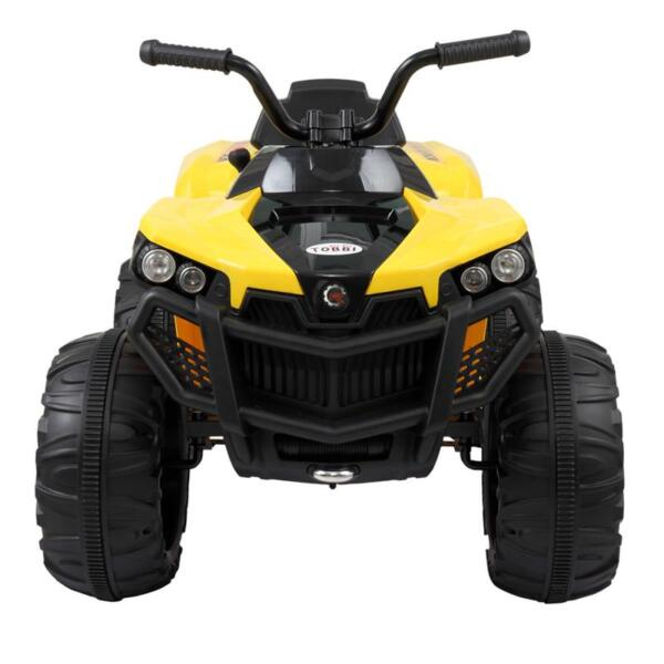 Electric Ride On ATV with 4 Wheel, Yellow electric ride on atv with 4 wheel white 14 副本