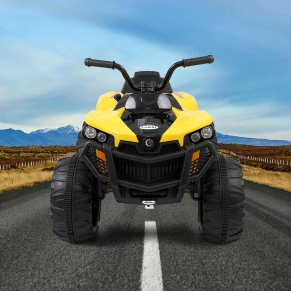 Electric Ride On ATV with 4 Wheel, Yellow electric ride on atv with 4 wheel white 6