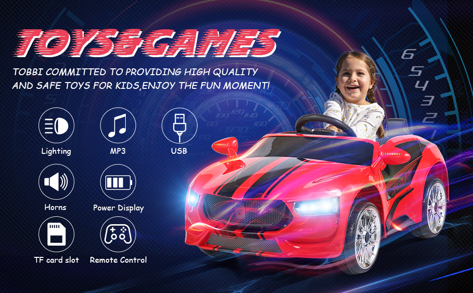 6V Kids Ride On Racing Car, Red ia 5700000041