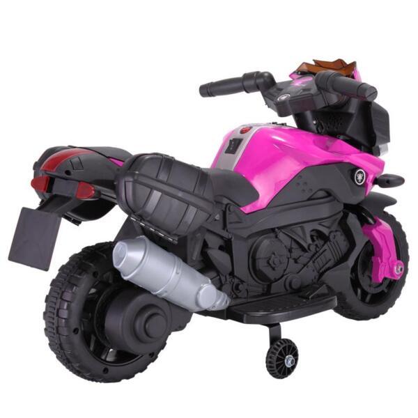 Kids Electric Ride-on Motorcycle, Pink kids electric ride on motorcycle white 26