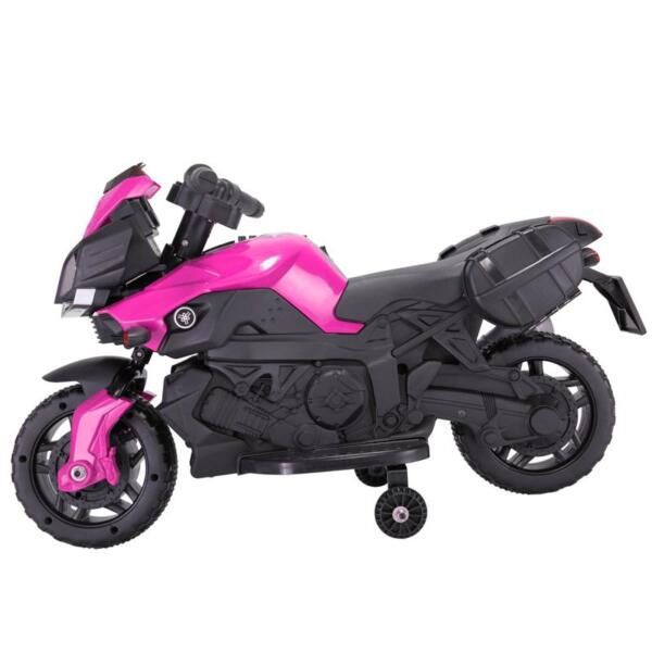 Kids Electric Ride-on Motorcycle, Pink kids electric ride on motorcycle white 9 2